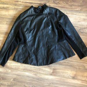 Women's Lane Bryant Sz 18/20 Pleather Jacket